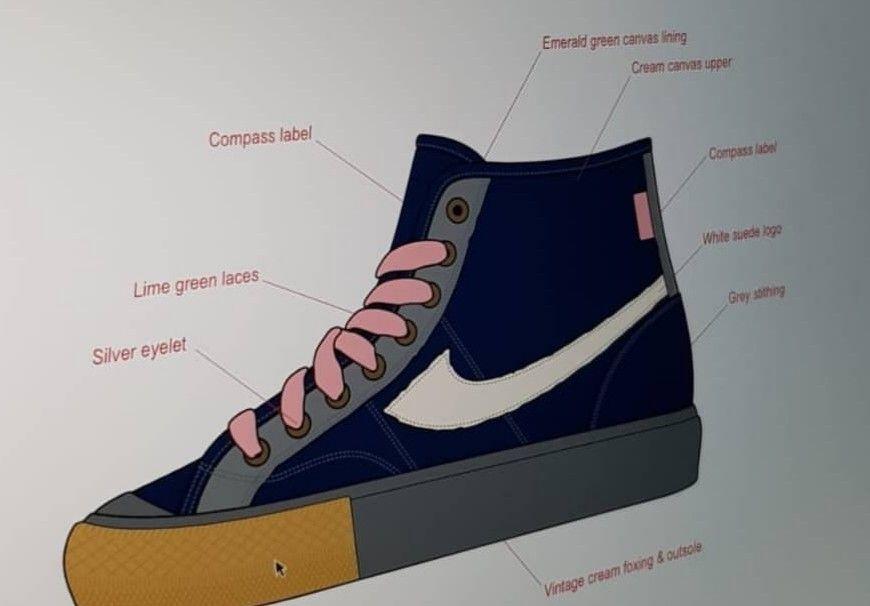 Sepatu Compass Design Terbaru Bocor Di 2020