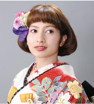 可愛いボブのアレンジ☆色打掛にも白無垢にも似合うボブの髪型一覧をまとめました!