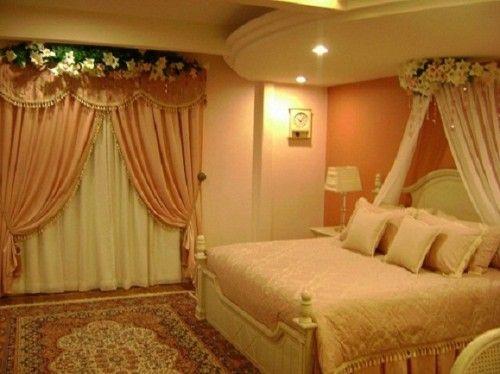 Elegant Romantic Bedroom Design Ide Kamar Tidur Bilik Dekor The elegant of romantic bedroom