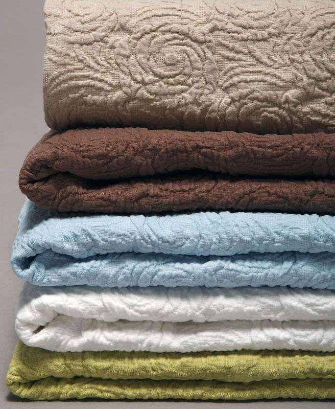 Belle Epoque Rose Coastal Matelasse Coverlet by Belle Epoque ... : matelasse quilts sale - Adamdwight.com