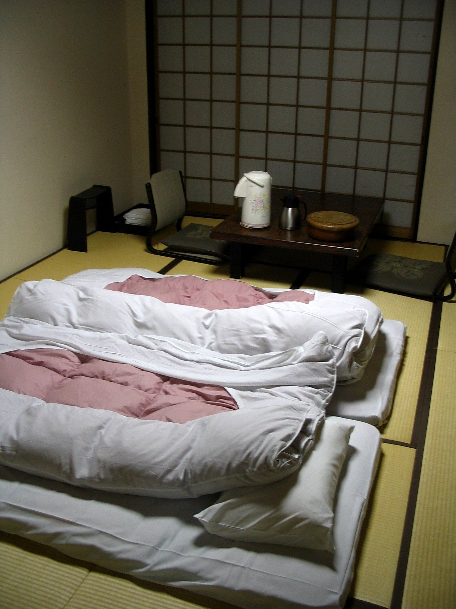 Futons (With images) Japanese floor bed, Japanese house
