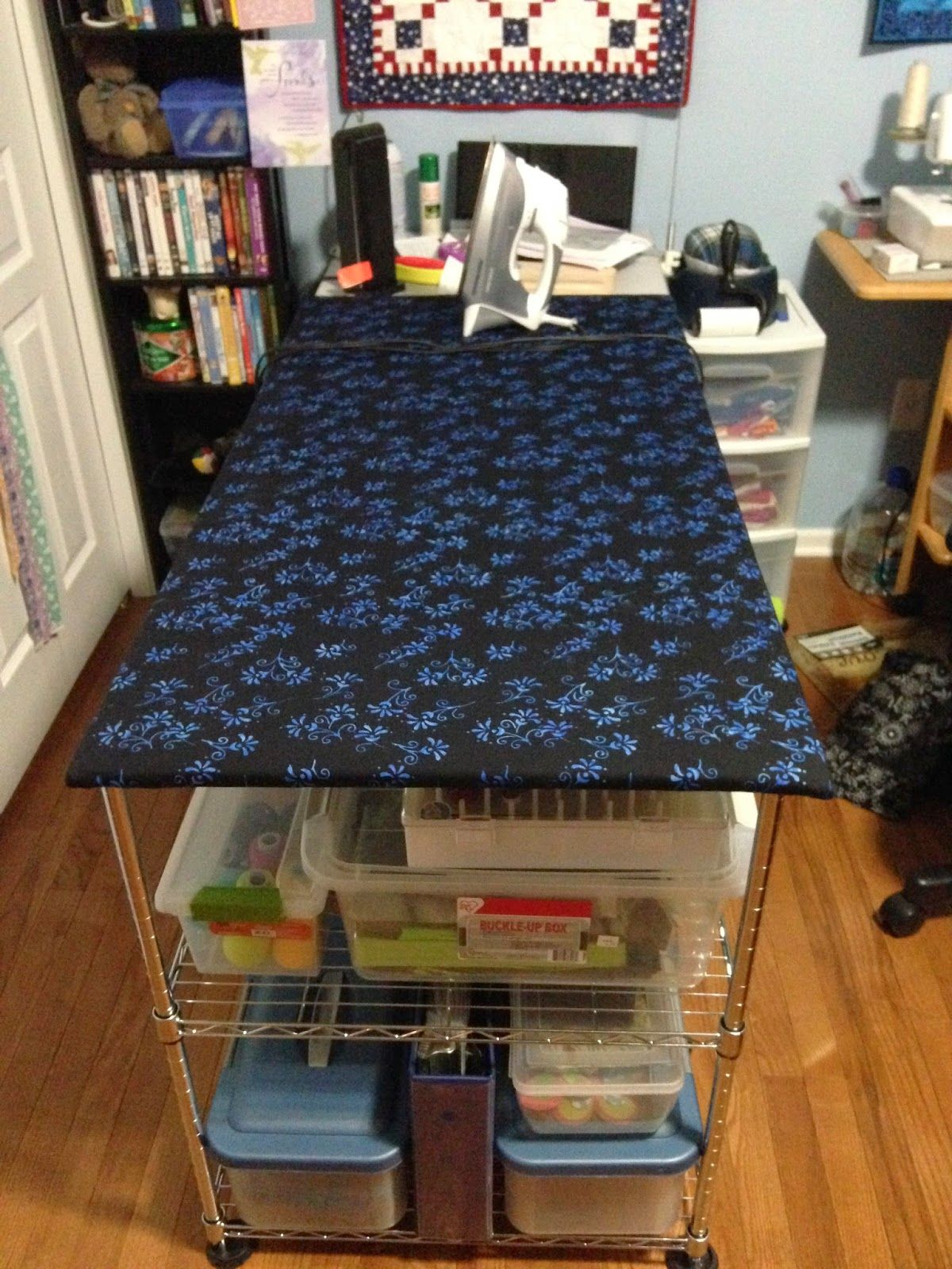 How To Make A Quilteru0027s Ironing Board Table