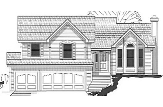 House plan for sloped lot.