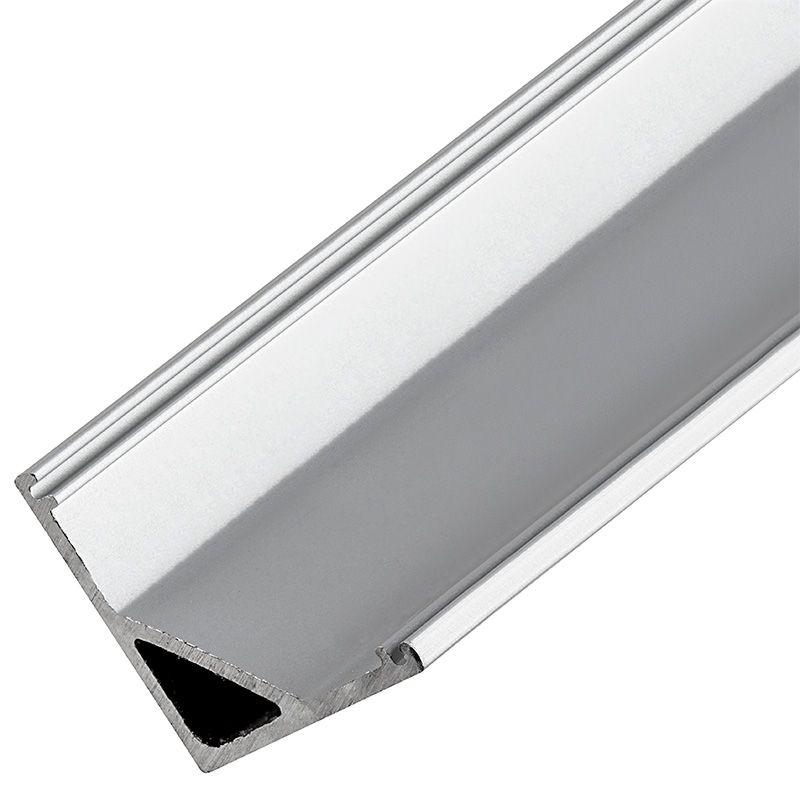Corner Wall Wash Aluminum Profile Housing For Led Strip Lights Led Strip Lights Led Bars Super Bright Leds Led Strip Lighting Strip Lighting Bar Lighting