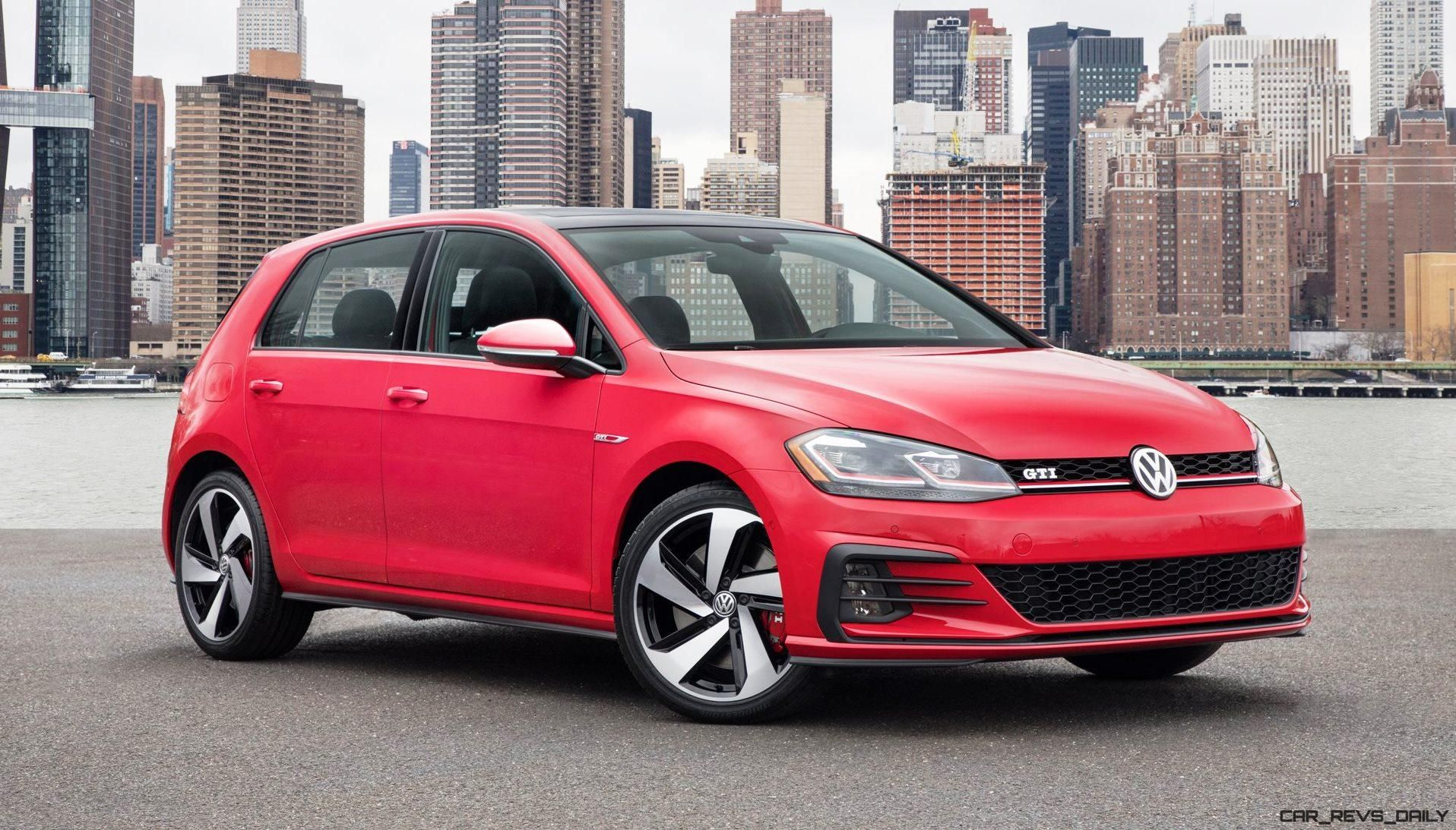 2018 Vw Golfs Debut Usa Facelift For Six Strong Model Line