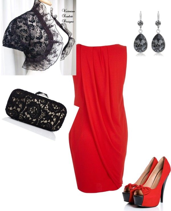 """Friday night Club"" by joanne-stroud on Polyvore"