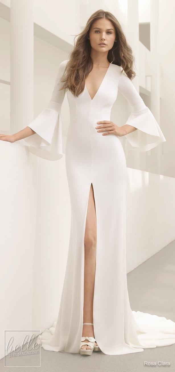 Royal wedding dress  Simple Wedding Dresses Inspired By Meghan Markle u Part   Rosa