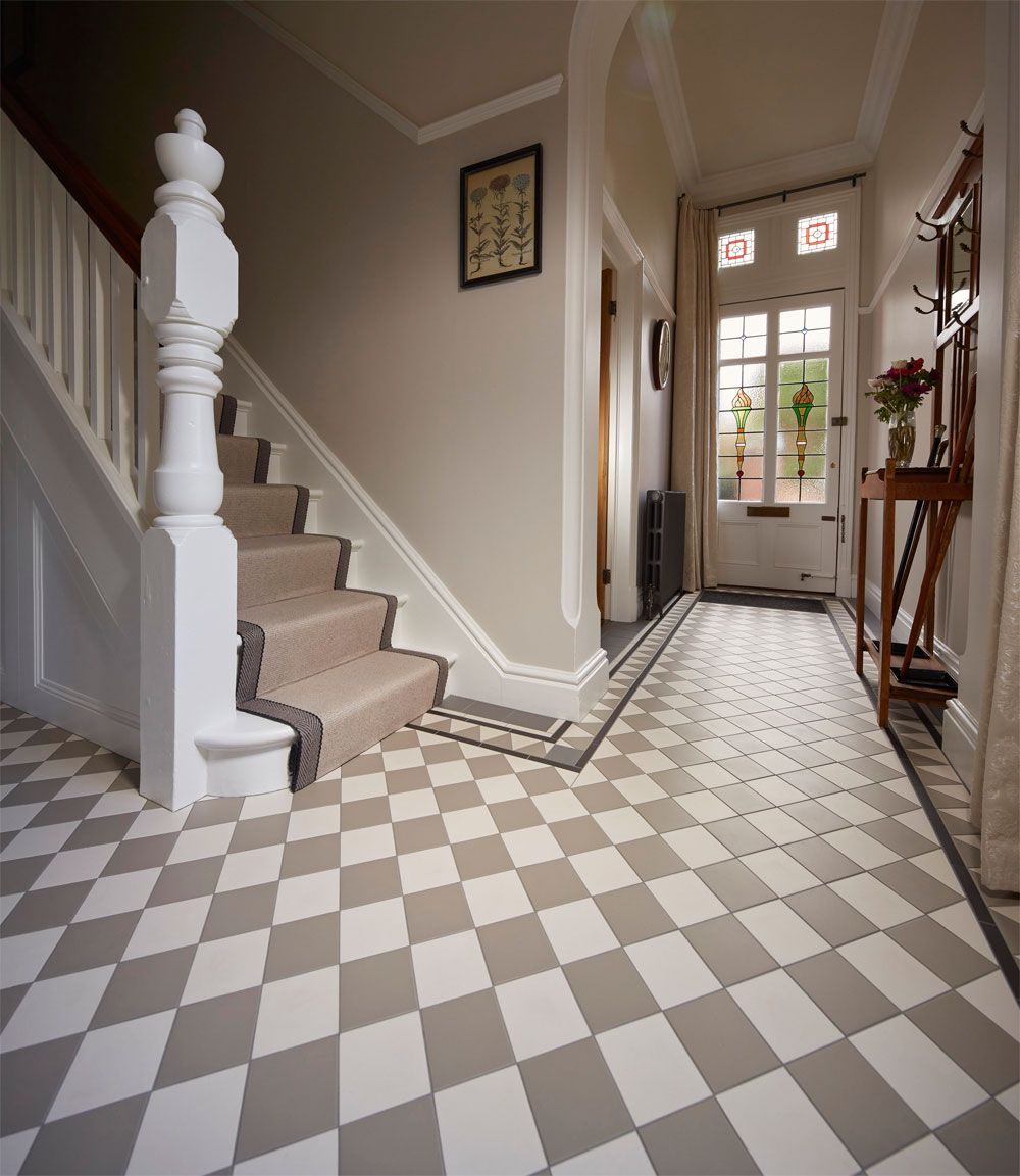 the oxford pattern  victorian floor tiles by original