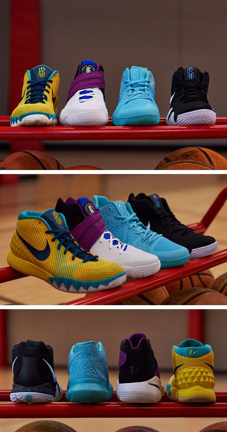 Introducing the new Nike Kyrie 4. Learn about how the shoe is inspired by the past and built for the future. #Nike #Kyrie4 #basketball #basketballshoes