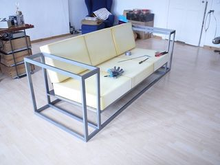 Full Metal Sofa Com Imagens Moveis Industriais Moveis Baratos Design De Moveis