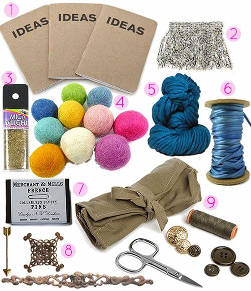 2013 Gift Guide: 20 DIY Gifts for Your Favorite Crafter ...