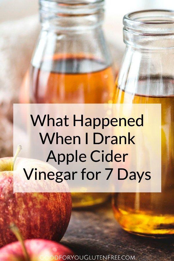 My Daily Apple Cider Vinegar Shot Challenge - Good