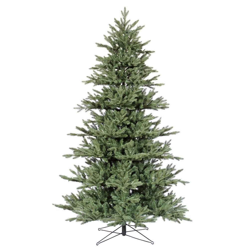 7 5 Vickerman G112375 Med Blue Noble Fir Blue Green Christmas Tree Green Christmas Tree Christmas Tree Vickerman Christmas Tree