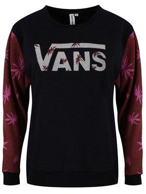 7f67b65ea8 Vans Yesterday s End Ladies Black Sweatshirt  vans  sweatshirt  ladies