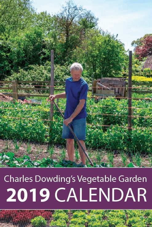 Charles Dowding's Vegetable Garden Diary No Dig 400 x 300