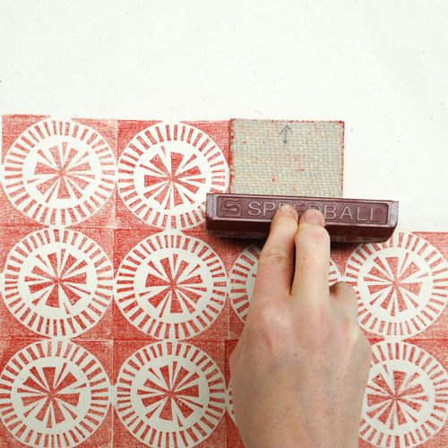 Block Print a Tote Bag | Cut your own stamps and print your design onto a tote bag - Friday 12th December | Workshops | handprinted - printing and dyeing retailer