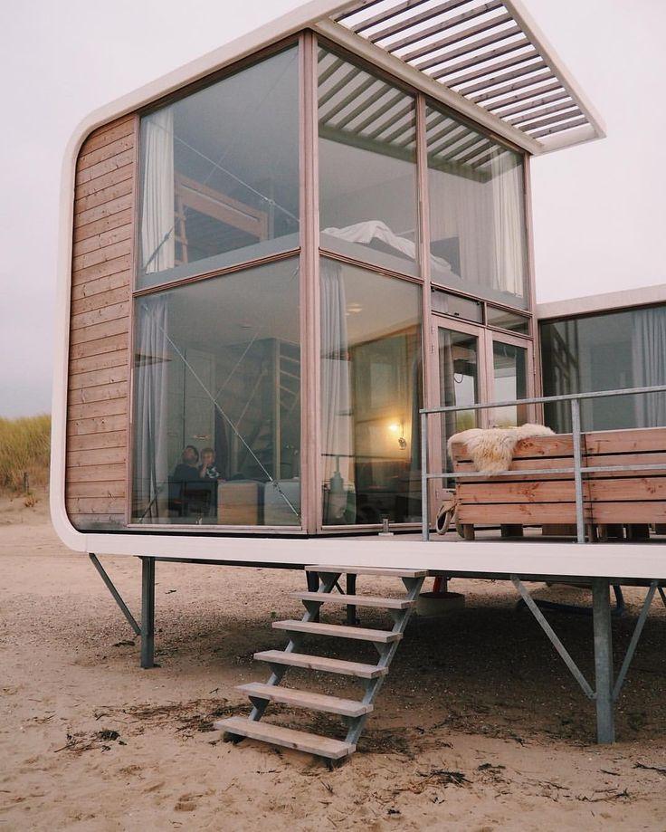 Modern House Design : Weekend retreat #strandhuis