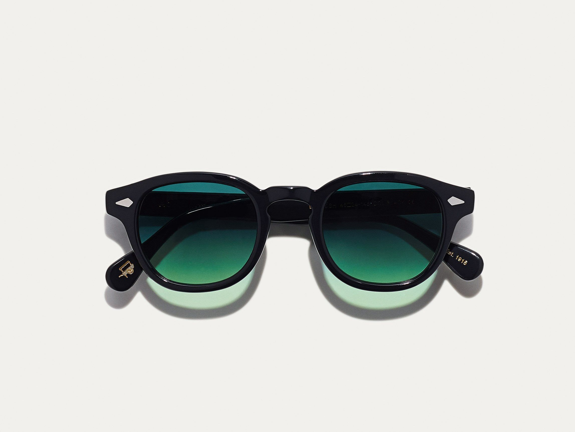 27d7c2a7c43 Moscot Lemtosh Black With Forest Wood Tint - 44 | Products | Wood ...