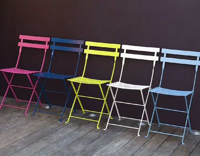 Fermob Bistro Folding Chair U2014 Stolicka Na Balkon
