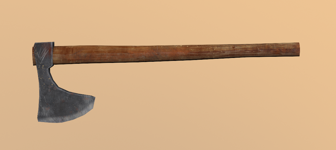 Chopping Axe Axe Low Poly 3d Low Poly 3d Models