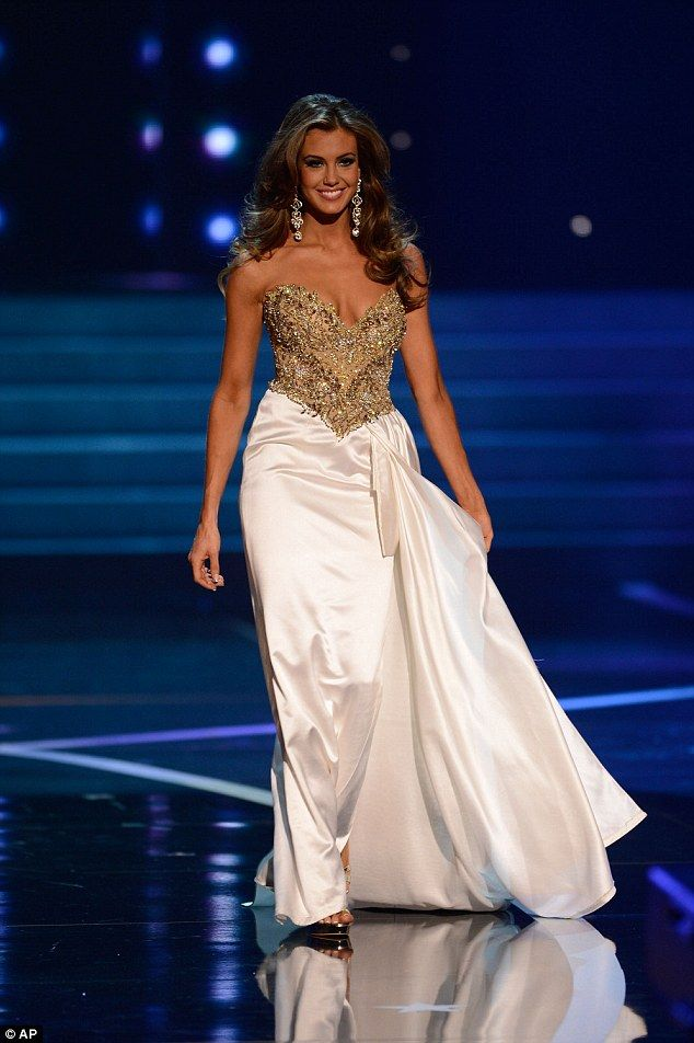 Beauty AND brains: Newly-crowned Miss USA from Connecticut is an ...