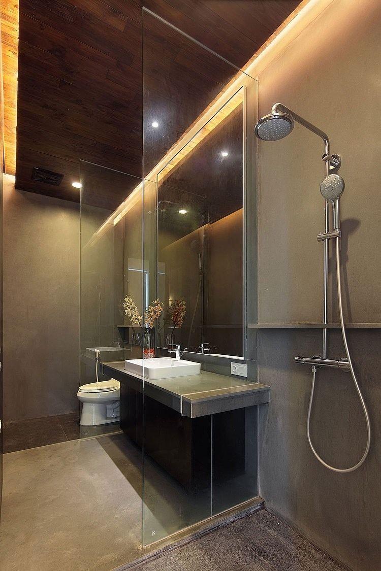 Badezimmer Dusche Trennwand In 2020 Deckenbeleuchtung Begehbare Dusche Design Fur Zuhause