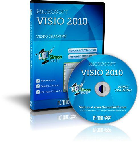 microsoft visio 2010 software training tutorials - Visio 2010 For Mac