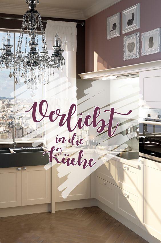 Verliebt in die Küche - Kücheneinrichtung im romantischen Stil - küche ikea landhaus