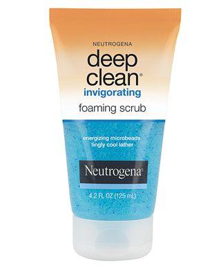 مدونة حنين للجمال Aroundfog انطباعي ديب كلين مقشر منشط من نيتروجينا Review Exfoliating Face Wash Neutrogena Gel Face Wash