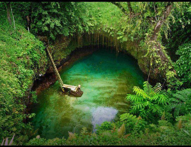To Sua Trench, Samoa