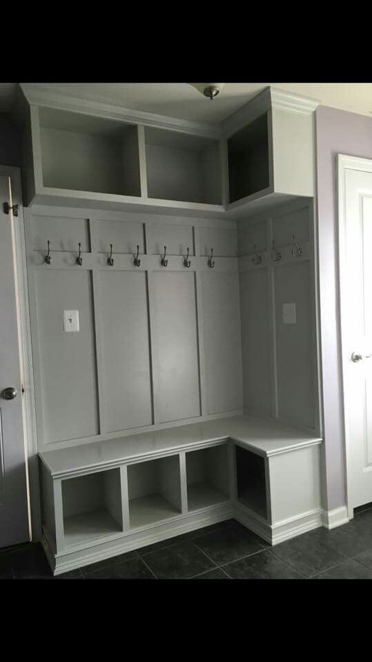 Board And Batten Mud Room Storage Entry Closet Laundry Mud Room