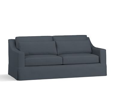 York Slope Arm Deep Seat Slipcovered Sofa Sofa