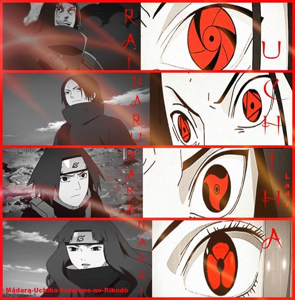 Rai Baru Naka Naori Uchiha Itachi Naruto Shippuden Boruto