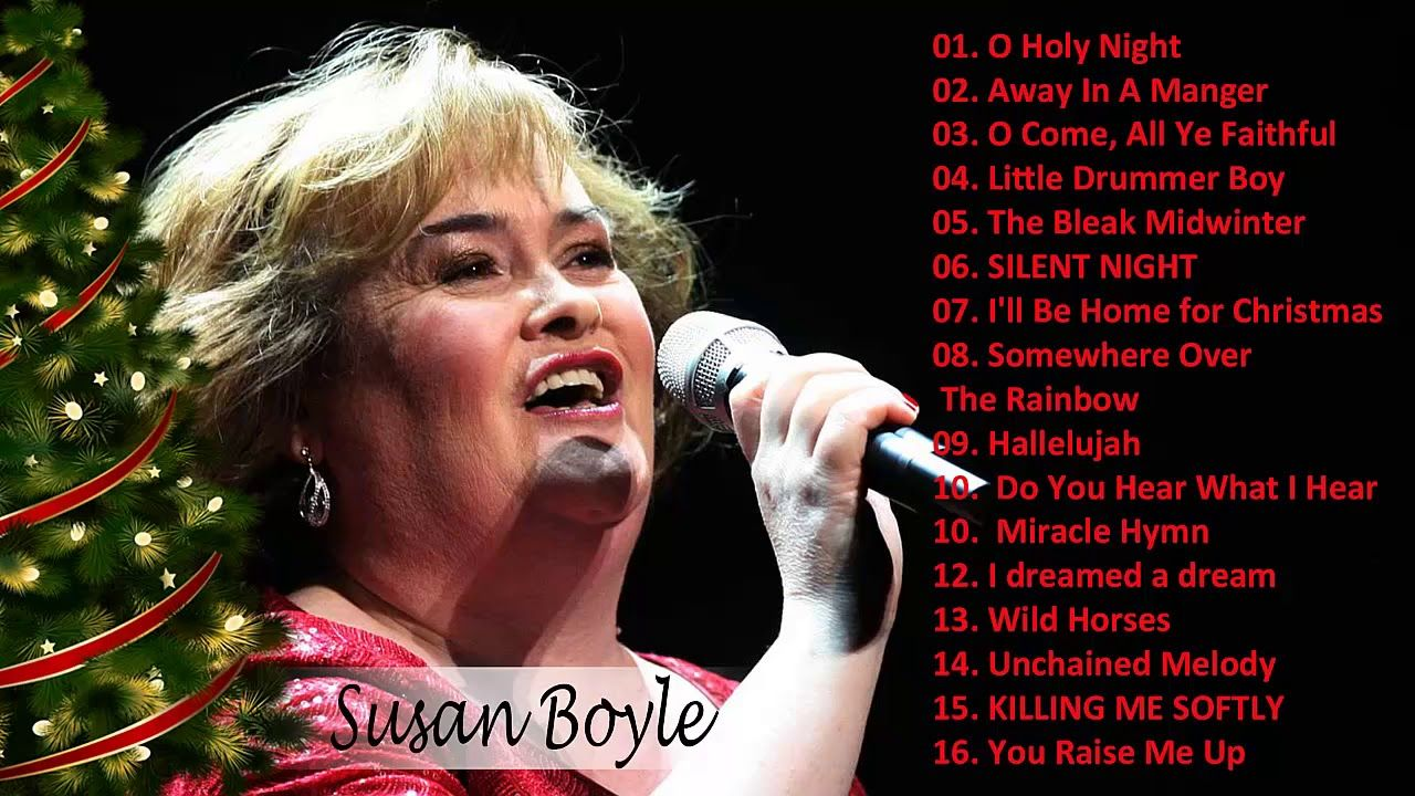 Susan Boyle Christmas Album 2018 2019 The Gift Susan Boyle Christmas Songs Youtube Christmas Albums Songs Christmas Songs Youtube