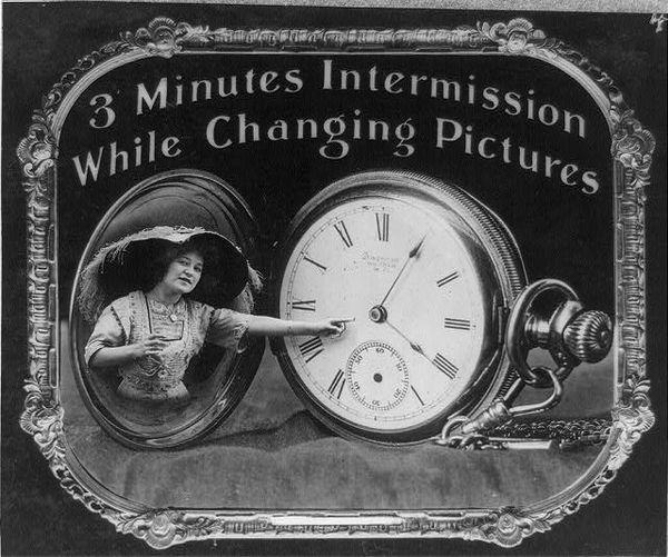 Kino-Regeln aus dem Jahre 1912