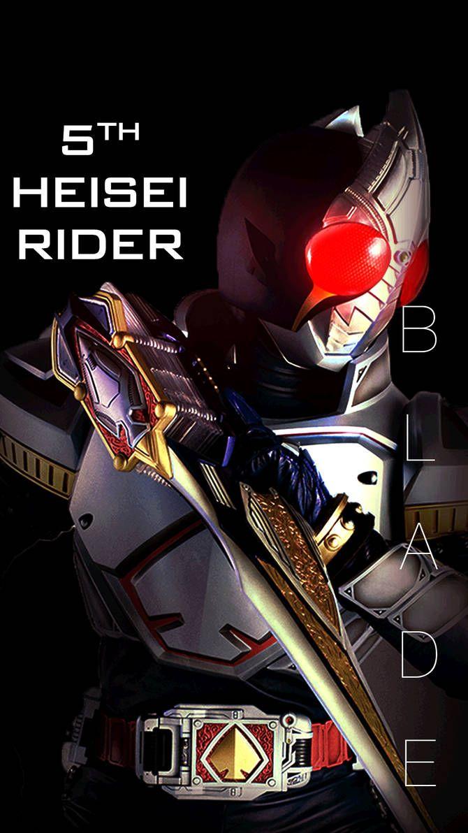 Kamen Rider Blade Smart Phone Wallpaper By Phonenumber123 On Deviantart Kamen Rider Kamen Rider Decade Kamen Rider Kabuto