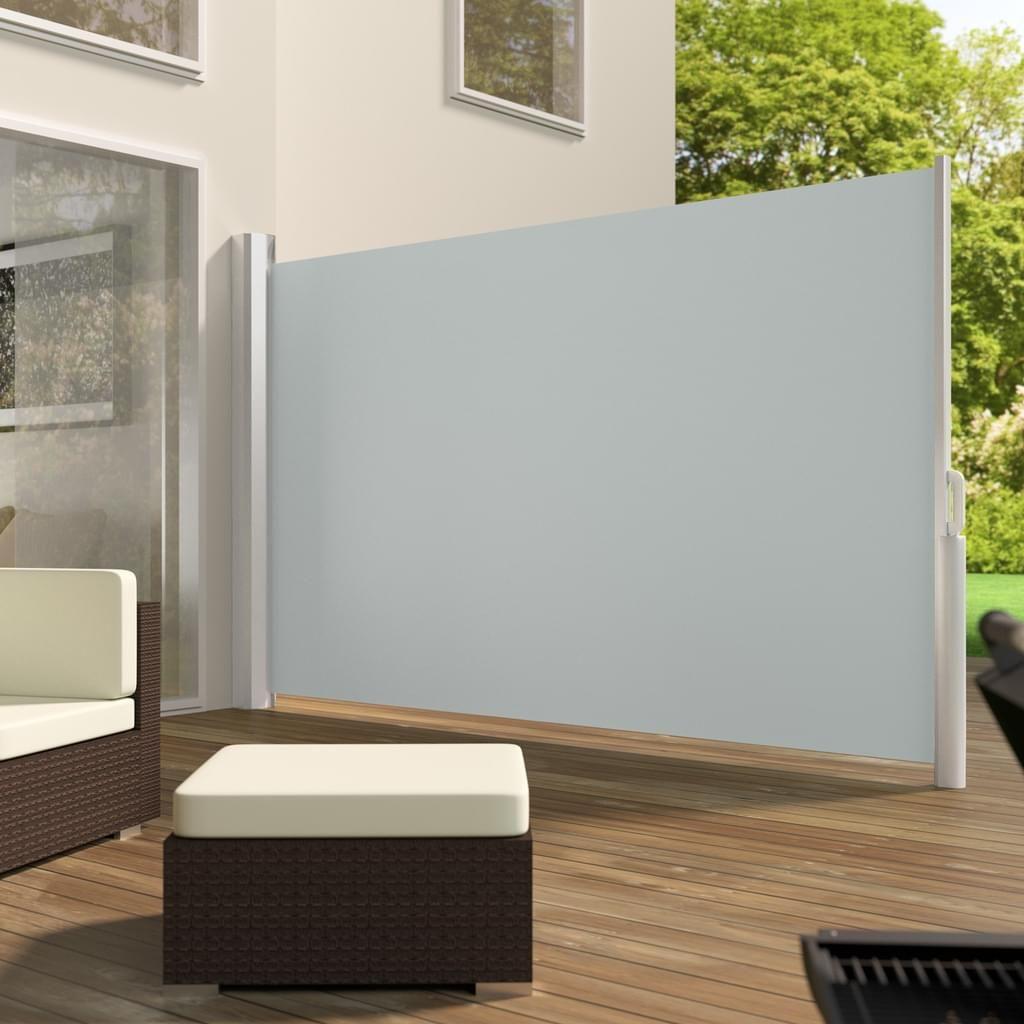 Tectake Aluminium Seitenmarkise Grau 180 X 300 Cm Mit Bildern
