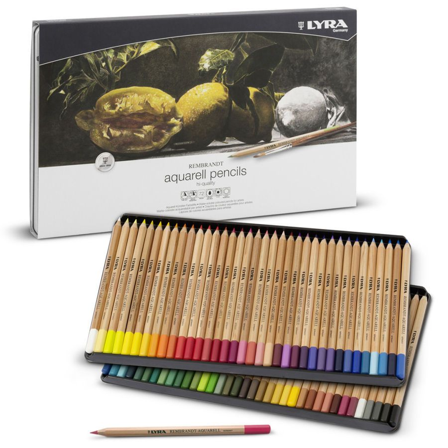 Lyra Rembrandt Aquarell Water Solube Artists Coloured Pencils 36