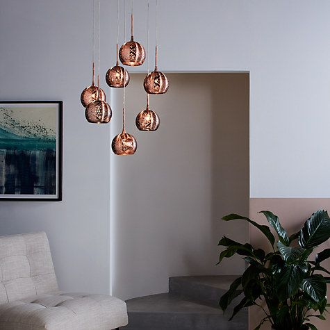 Buy john lewis simba dangles cluster ceiling light 7 light buy john lewis simba dangles cluster ceiling light 7 light copper online at johnlewis aloadofball Gallery