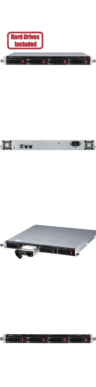 Network Attached Storage 106273 Buffalo Terastation 3410rn Rackmount 16 Tb Nas Hard Drives Included Buy It Now On Network Attached Storage Hard Drives Ebay