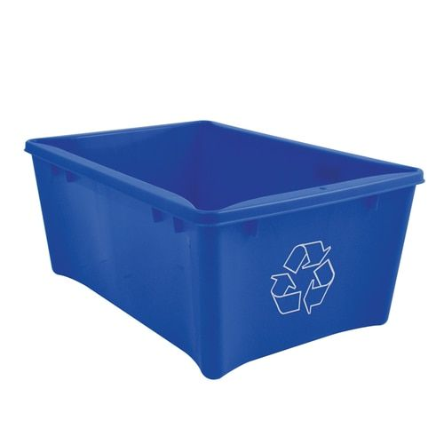 Under desk short recycling bin Organizing products Office