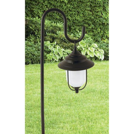 Moonrays 95867 Parker Style Low Voltage Metal Path Light Walmart Com Outdoor Path Lighting Lantern Style Lighting Path Lights