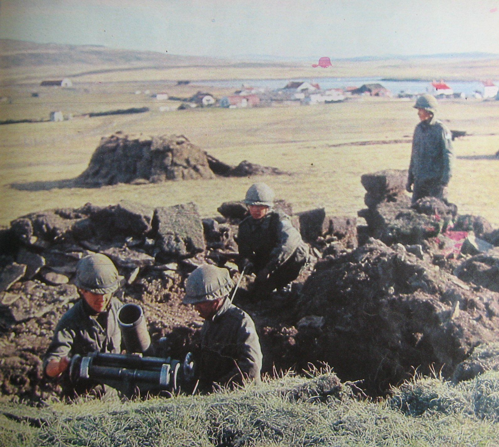 Pin en Falklands War 1982
