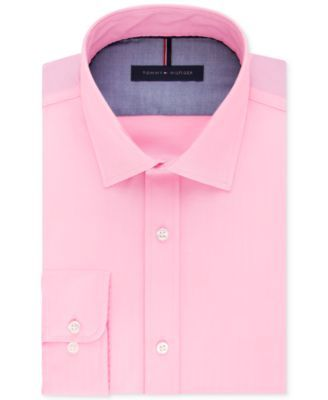 TOMMY HILFIGER Tommy Hilfiger Men's Slim-Fit Non-Iron Solid Dress Shirt. #tommyhilfiger #cloth # dress shirts