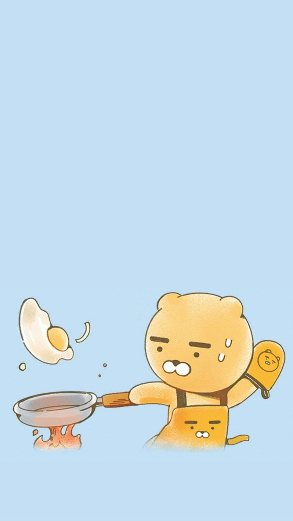 Cooking lion kakao friends en 2019 friends wallpaper - Cute asian cartoon wallpaper ...