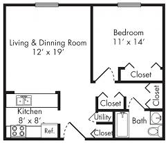 30x30 Floor Plan Google Search Live Work 1 Bedroom