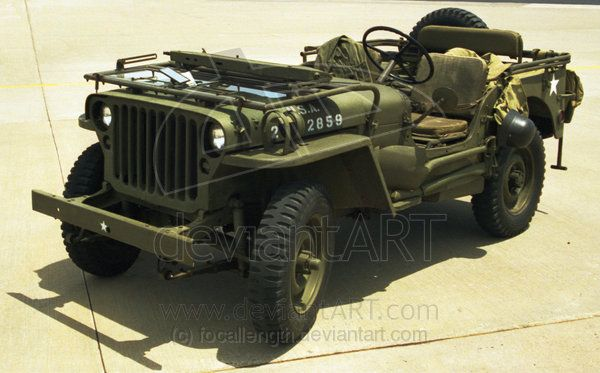 Jeep (Willys, Ford, Chrysler, and others produced the