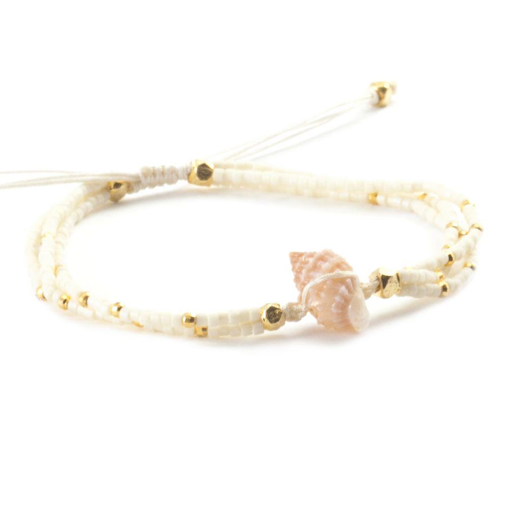 Chan Luu Shell Charm Bracelet DmmV1j23Q