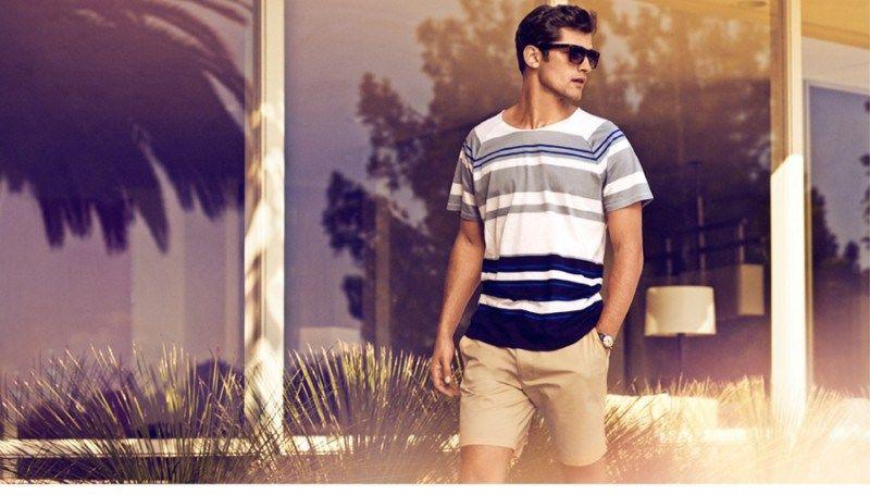 H&M S/S14 'Sunny Getaway' Mens Swimwear Campaign #SS14 #HM #Menswear #Mensfashion