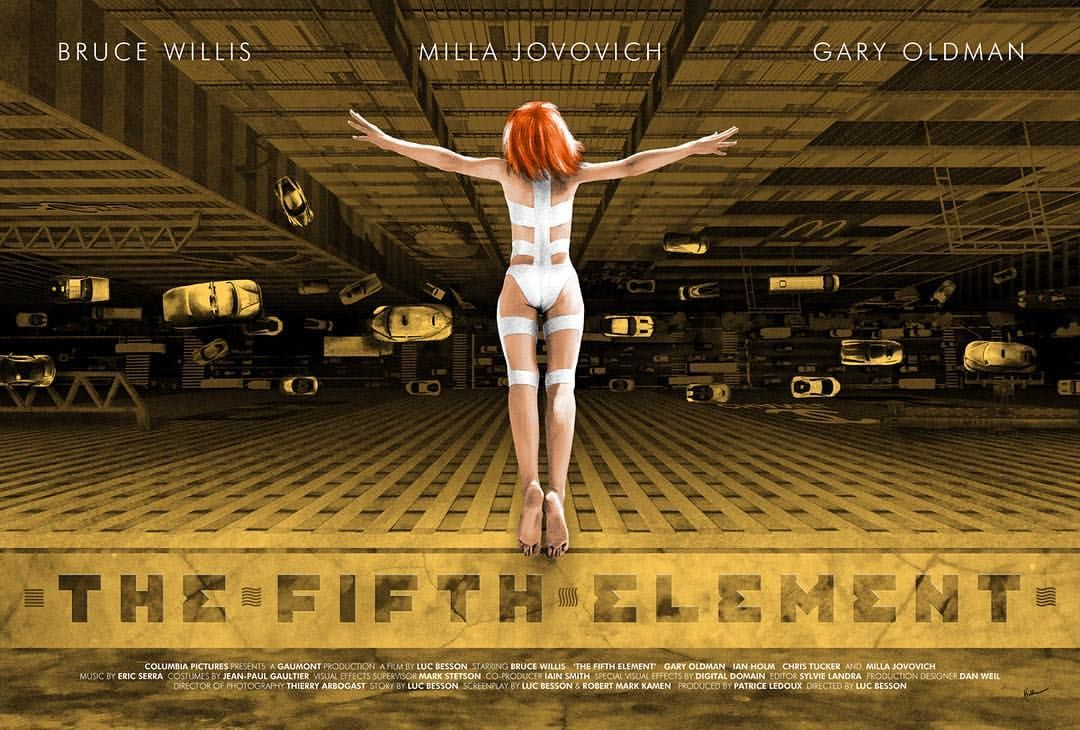 Fifth Element - Kevin M Wilson ----